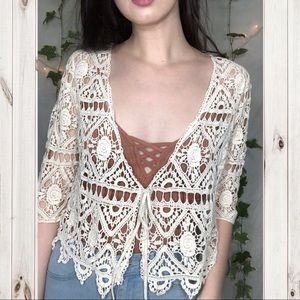 Tops - 🌼Cute Crochet Top!🌼